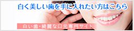 白い歯・綺麗な口元専門サイト